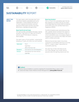 Sustainability Report FY2016/2017